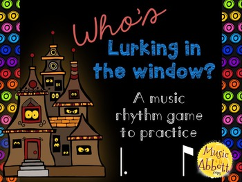 Who's Lurking in the Window? Two interactive PDF games to practice tom-ti/tam-ti