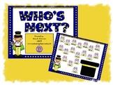 Who's Next Random Student Name Caller Promethean Flipchart Lesson