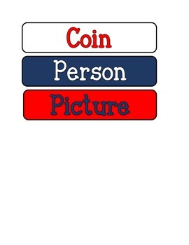 Who's On That Coin? Anchor Chart