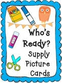 Who's Ready? Supply Picture Cards