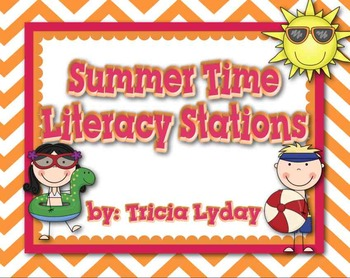Who's Ready for Summer? Pool & Summer Literacy Activities