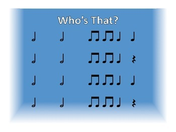 """""""Who's That"""" Door Rhythm Game"""