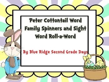 Who's The Imposter? Word Family Spinners and Roll-A-Word Activities