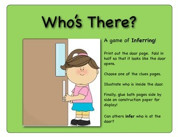 Who's There?  (Inferring Game)
