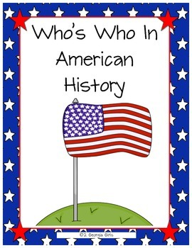 Who's Who In American History GMAS Review Game