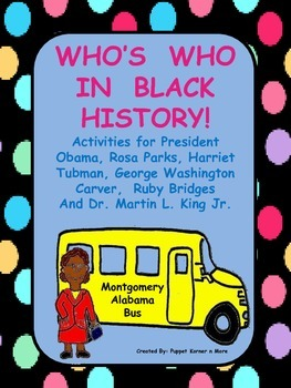 Black History (Who's Who In Black History)