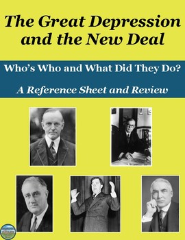Who's Who in The Great Depression and New Deal: Reference