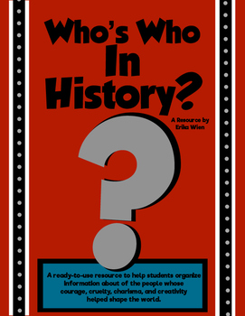 Who's Who in Your History Course?