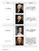 Who's Who from Washington to Jefferson: Reference Sheet and Review