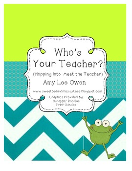 Who's Your Teacher (Frog-a-licious Meet the Teacher)