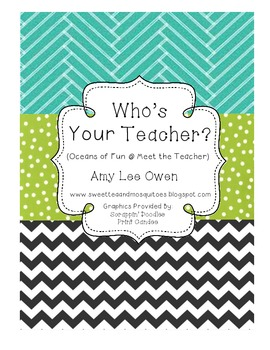 Who's Your Teacher (Oceans of Fun at Meet the Teacher)
