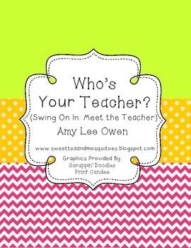 Who's Your Teacher (Swing on In & Go Bananas)