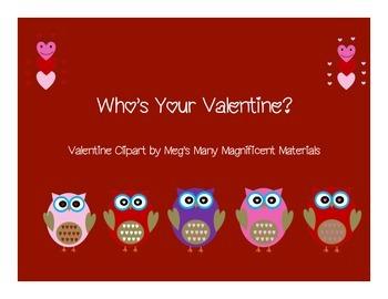 Who's Your Valentine {Freebie}