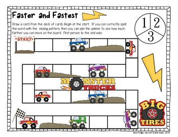 Who's faster or the fastest? -Er and -Est Word Work Activities