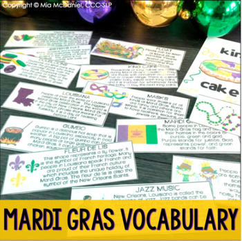 Who's got the baby? An old maid game- Mardi Gras style!