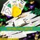 A Mardi Gras style Old Maid card game  ~ Who's got the baby?