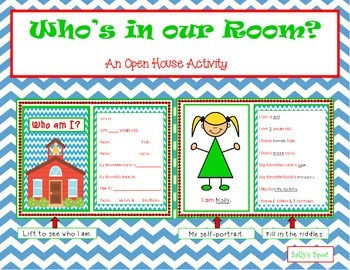 Who's in Our Room? An Open House Activity