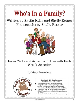 Who's in a Family? by Mary Rosenberg