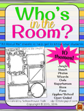 Who's in the Room? {All About Me pages}