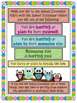 Who's the School Counselor? (Classroom Introduction)