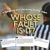 Whose Fault Is It? A Review Game