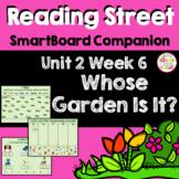 Whose Garden Is It SmartBoard Companion Kindergarten