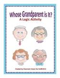 Whose Grandparent Is It?  A Cooperative Group Math Logic Problem