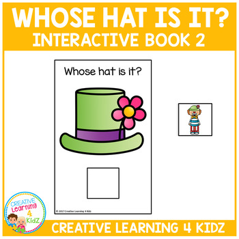 Whose Hat Is It? Interactive Book 2 Community Helpers