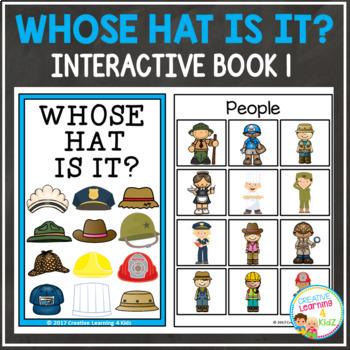 Whose Hat Is It? Interactive Book Bundle Community Helpers