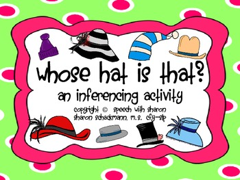 Whose Hat is That? An Inferencing Activity