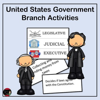 Whose Job Is It?  United States Government Branches Sort