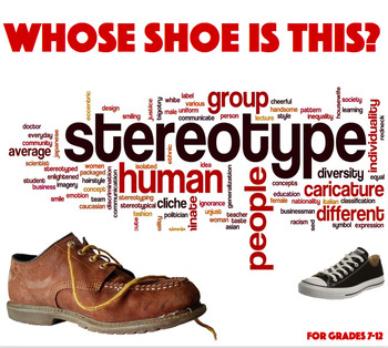 Whose Shoe is This? STEREOTYPING Activity