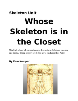 Whose Skeleton is in Your Closet Lab