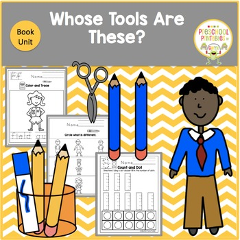 Whose Tools Are These? Book Unit