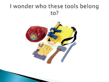 Whose Tools Are These Powerpoint Game for Career Day
