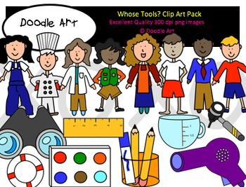 Whose Tools? Clipart Pack