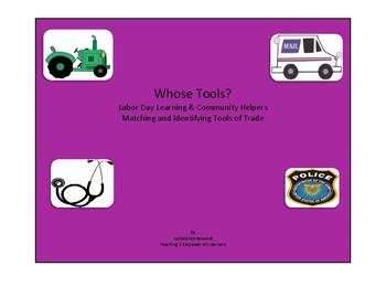 Whose Tools? Labor Day and Community Helpers