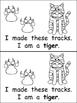 Whose Tracks? Emergent Reader- Kindergarten Science- Anima