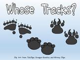 Whose Tracks?- Shared Reading- Kindergarten Science- Animal Tracks