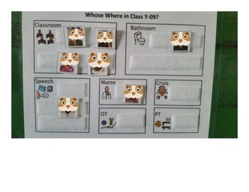 Autism, Classroom Management, Classroom Check In and Out Board