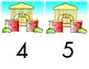 Whose Zoo House Ten Frame - Counting 0-10 Mats - Learning Center Kit