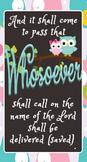 Whosoever Joel 3:32