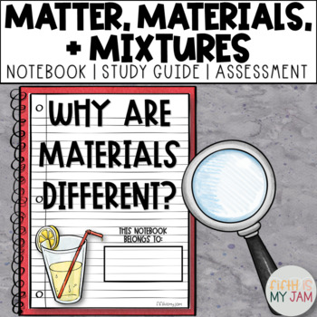 5th Grade NGSS // Why Are Materials Different?