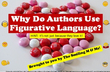 Fun CANDY Acronym to Teach Figurative Language in Poetry Analysis CCSS 6 7 8 9