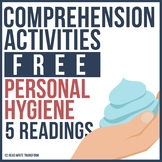 5 FREE Bacteria & Personal Hygiene Reading Comprehension Passages and Activities