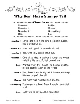 Why Bear Has a Stumpy Tail