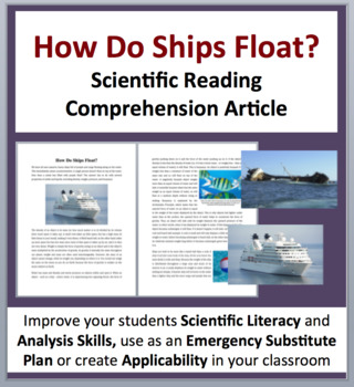 Why Boats Float - Density and Buoyancy - Science Reading Article