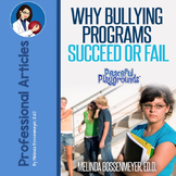 Why Bullying Programs Succeed or Fail