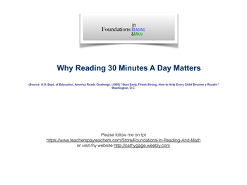 Why Can't I Skip My 20 Minutes of Reading Tonight?