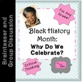 Black History Month Brainteaser